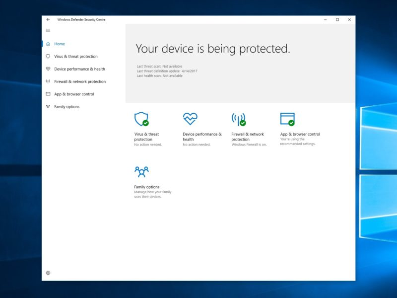 Windows Defender عنوان بهترین آنتی ویروس را کسب کرد