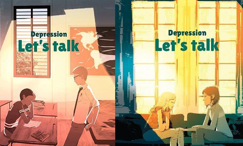 افسردگی: بیا حرف بزنیم