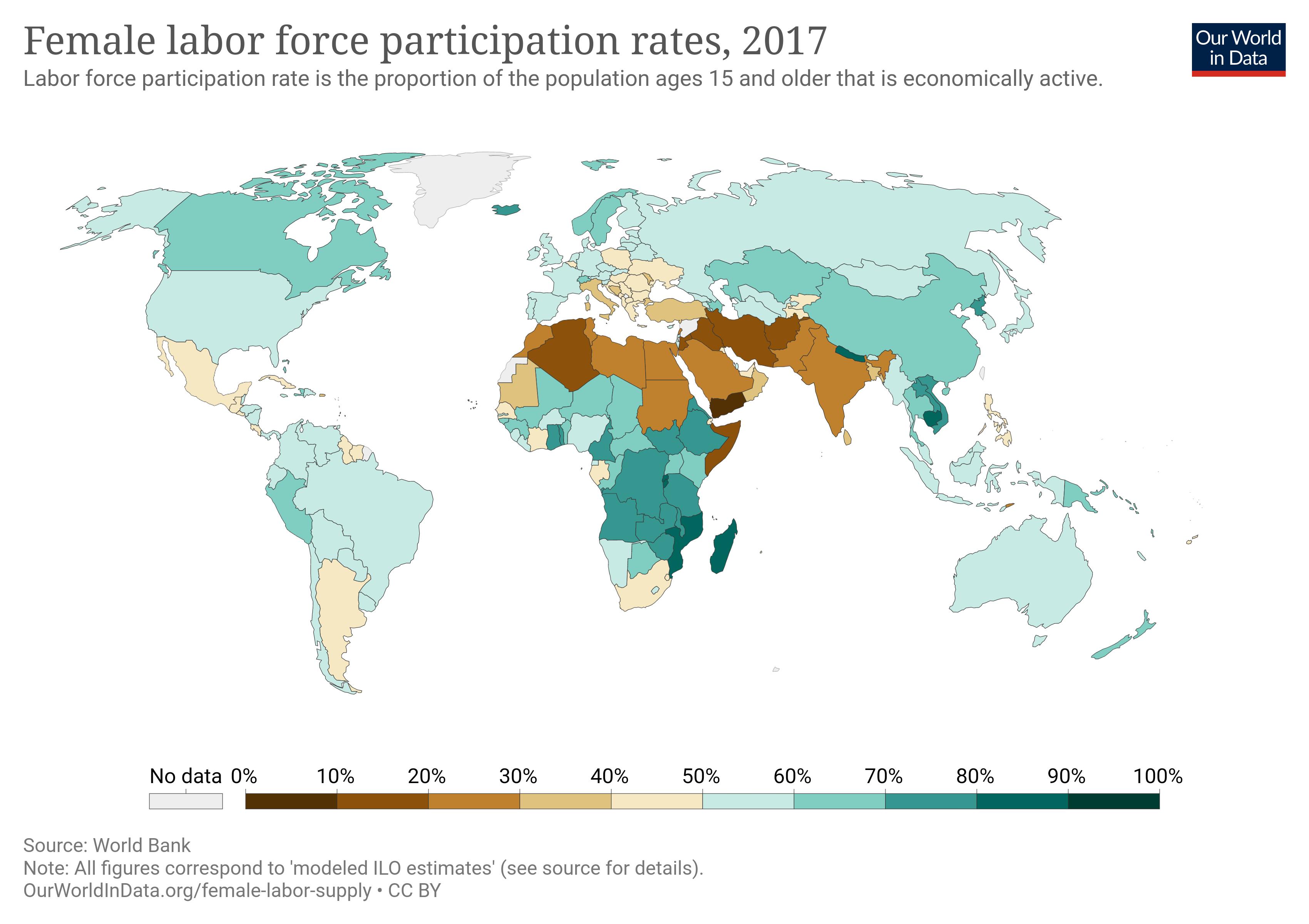 اشتغال زنان ایران، کمتر از عربستان!