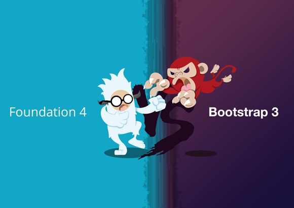 نبرد فریمورک های Bootstrap و Foundation