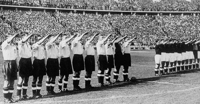 انگلیس و آلمان: هایل هیتلر