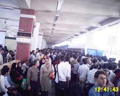 مترو و عواقب اجتماعی عملکرد جمعی ما!!!