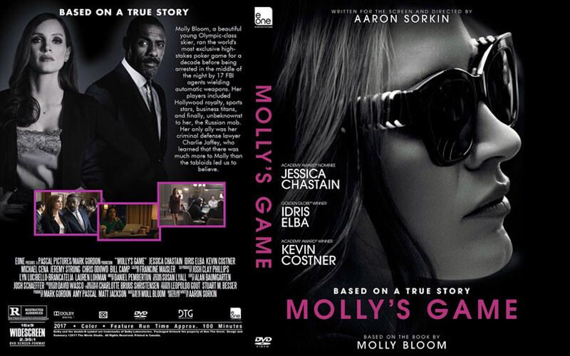 فیلم سینمایی Molly's Game، بر اساس سرنوشت واقعی یک میزبان پوکر