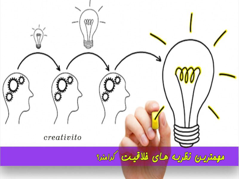 مهم ترین نظریه های خلاقیت: بررسی 8 مورد به صورت خلاصه