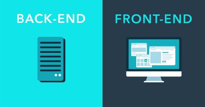 Front End در برابر Back End - کاربردها و تفاوتها