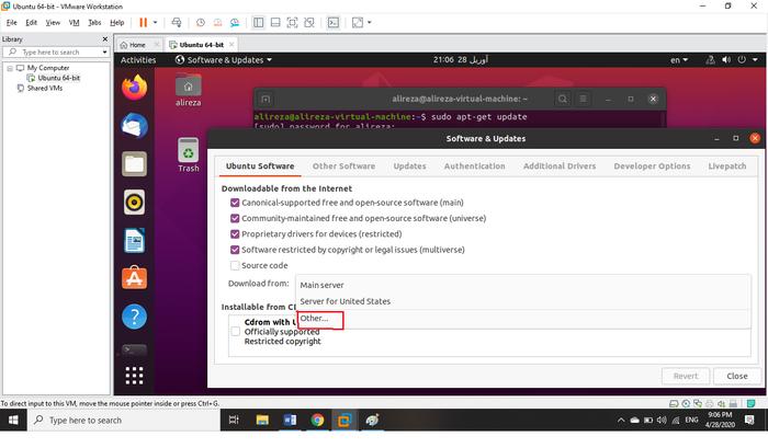 Unable to locate package error on Ubuntu 20.04
