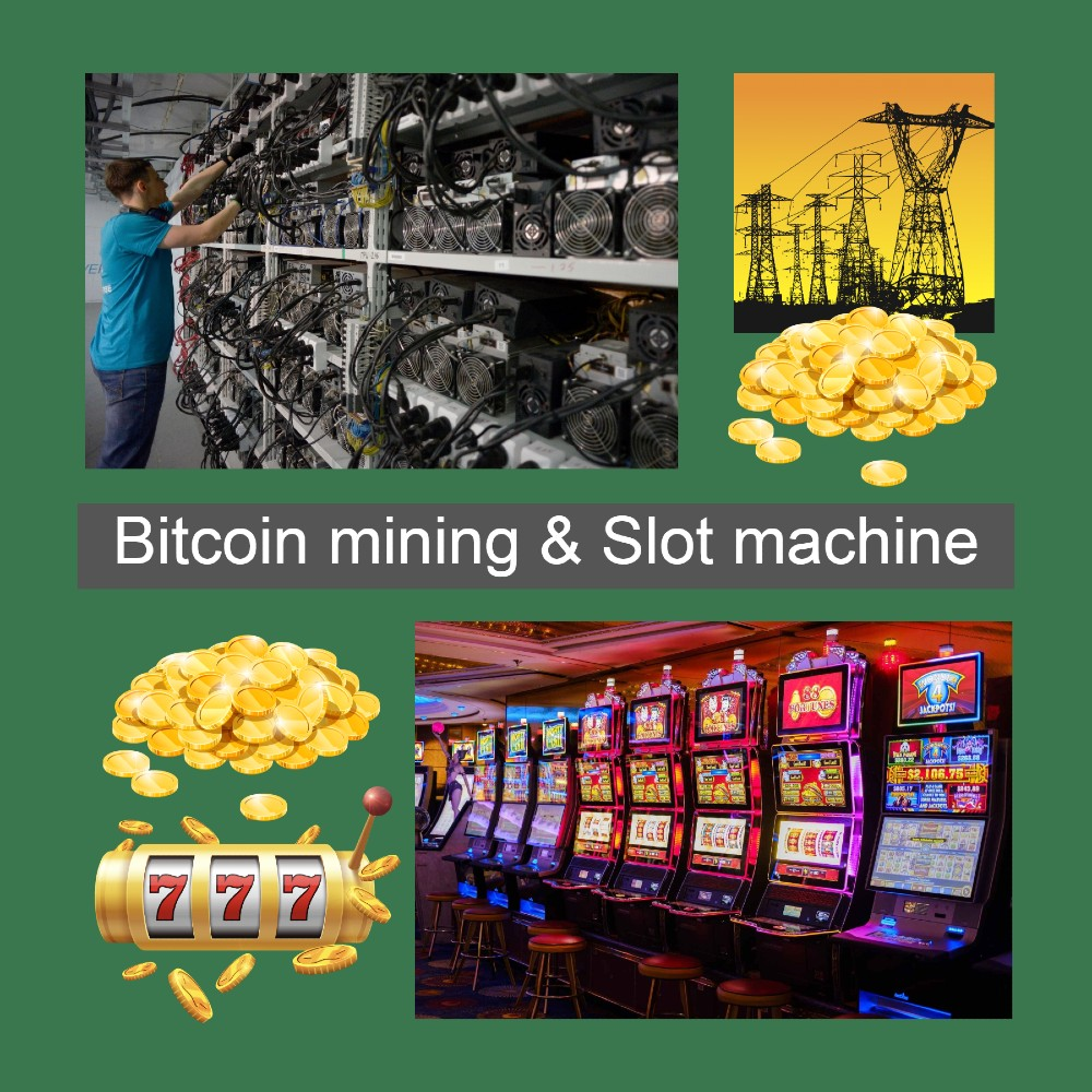 Bitcoin mining Vs. Slot machine