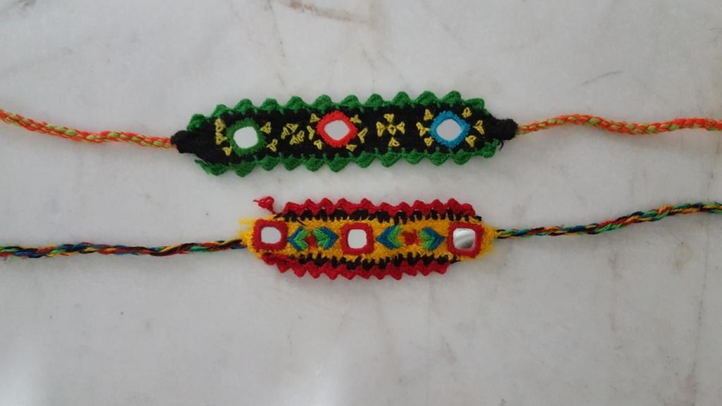 دستبندهای خریداری شده از تالاب لیپار(صورتی)