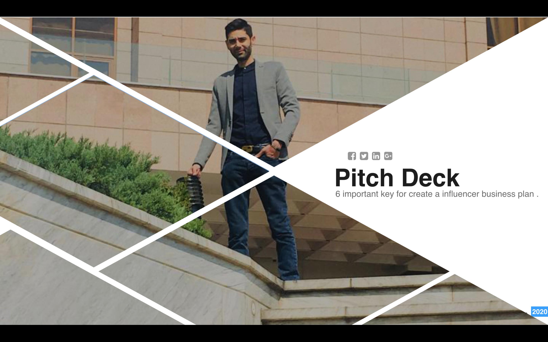 ۶ کلید ساخت pitch-deck جهت توجیه سرمایه گذار