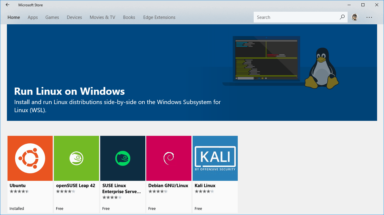 Windows WSL