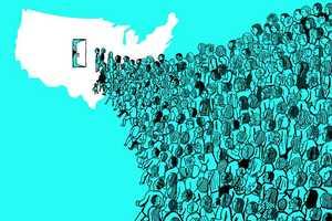 فاجعه ای به نام مهاجرت
