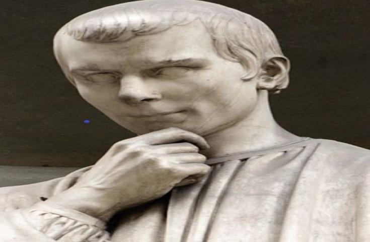 Pek az insan kötülük ve çıkar peşinde koşmanın yöntemlerini Niccolo Machiavelli kadar ayrıntılı anlatmaya cesaret edebilmiştir.