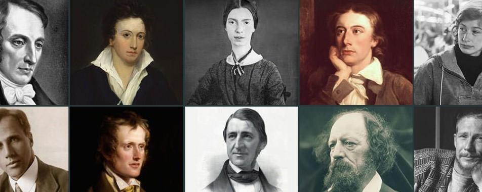 Dünyanın en tanınmış şairleri hangileridir?