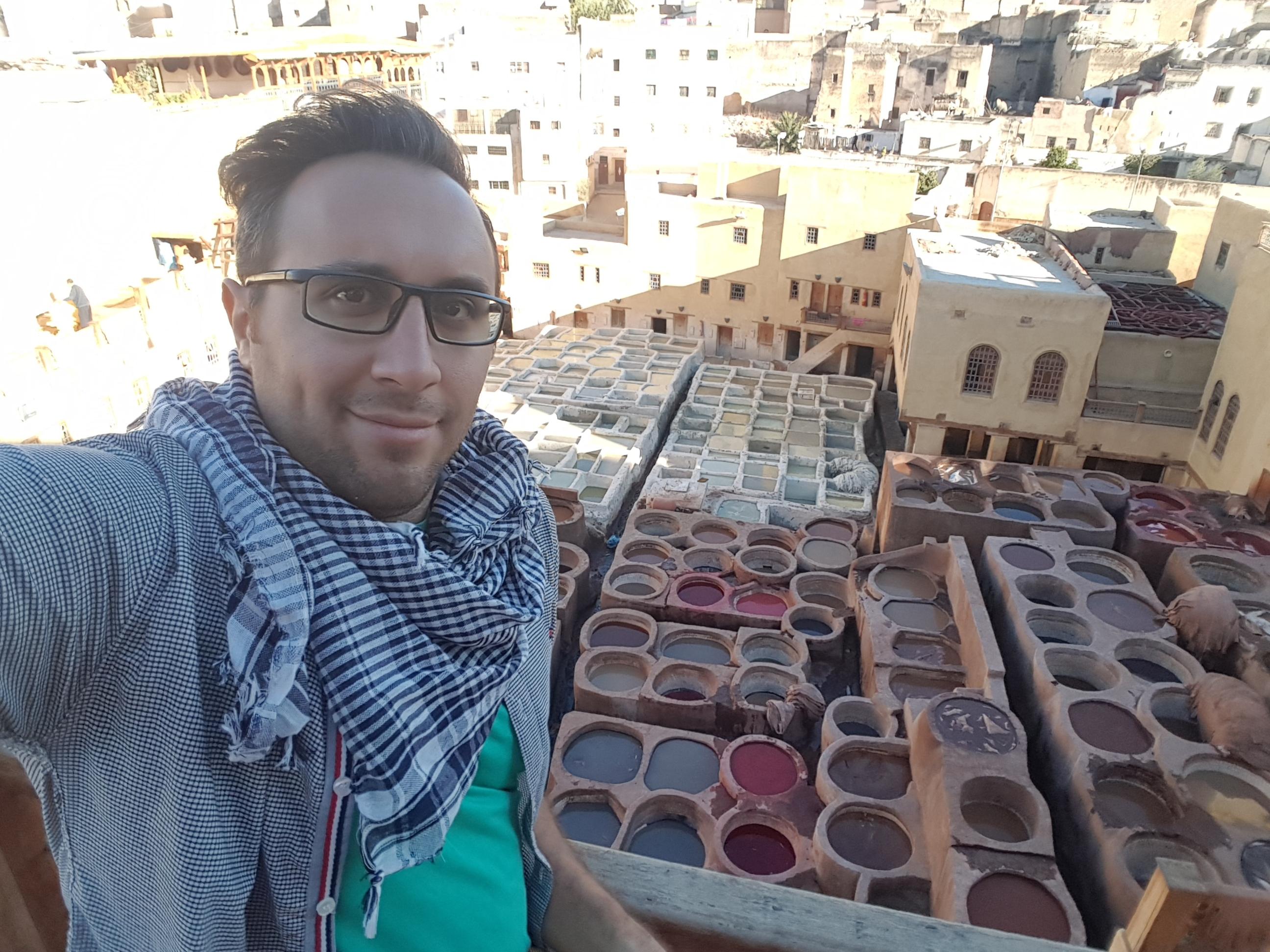 شهر زیبای فاس در مراکش