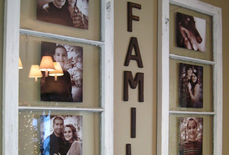 10 ایده برای زنده کردن عکس های خانوادگی