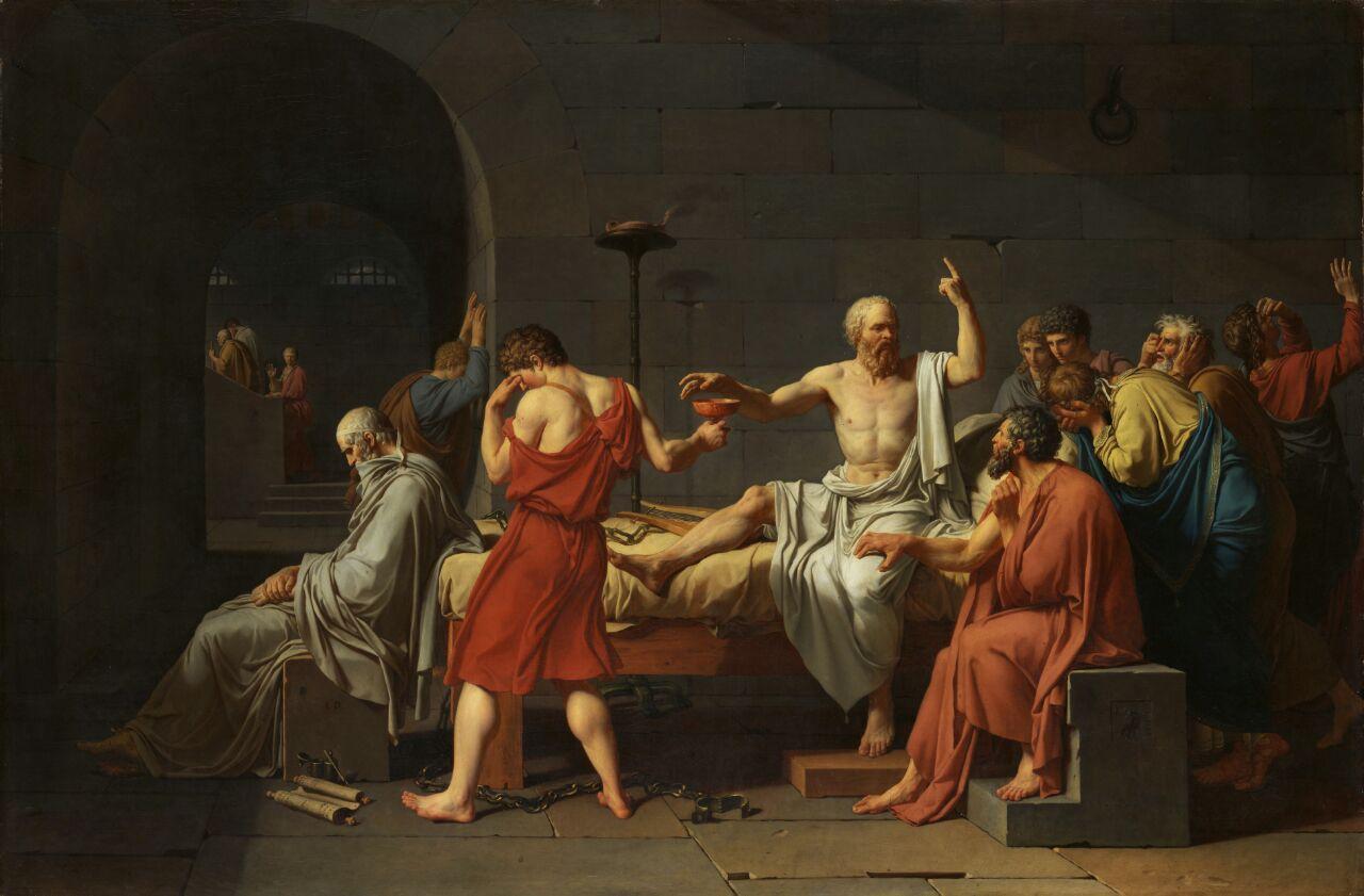 عاشقانه ای به سقراط