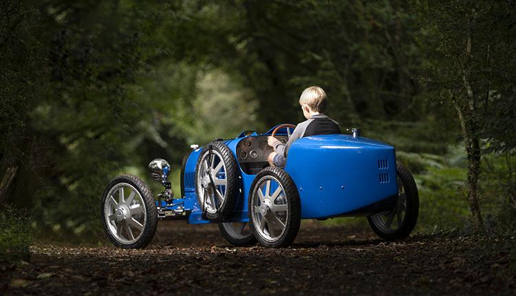 Bugatti Baby II؛ ماشینی برای بچه پولدارها!