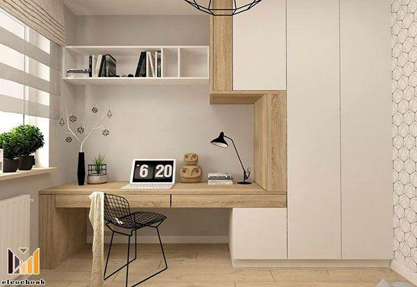 طراحی دکوراسیون اتاق کار خانگی