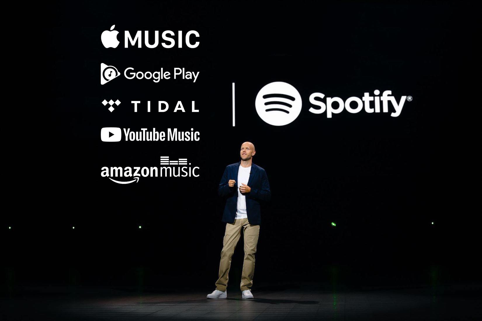 برنده بازار خونین موسیقی کدام است؟ اپل، گوگل، آمازون یا اسپاتیفای؟