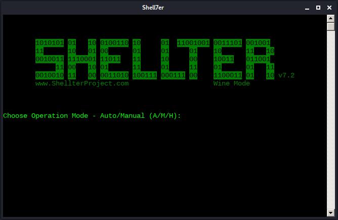معرفی Shellter،  اینجکتور شل کد داینامیک