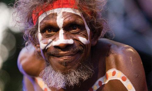 خرافه تکامل جانداران را باور نکنید(بومیان استرالیا)