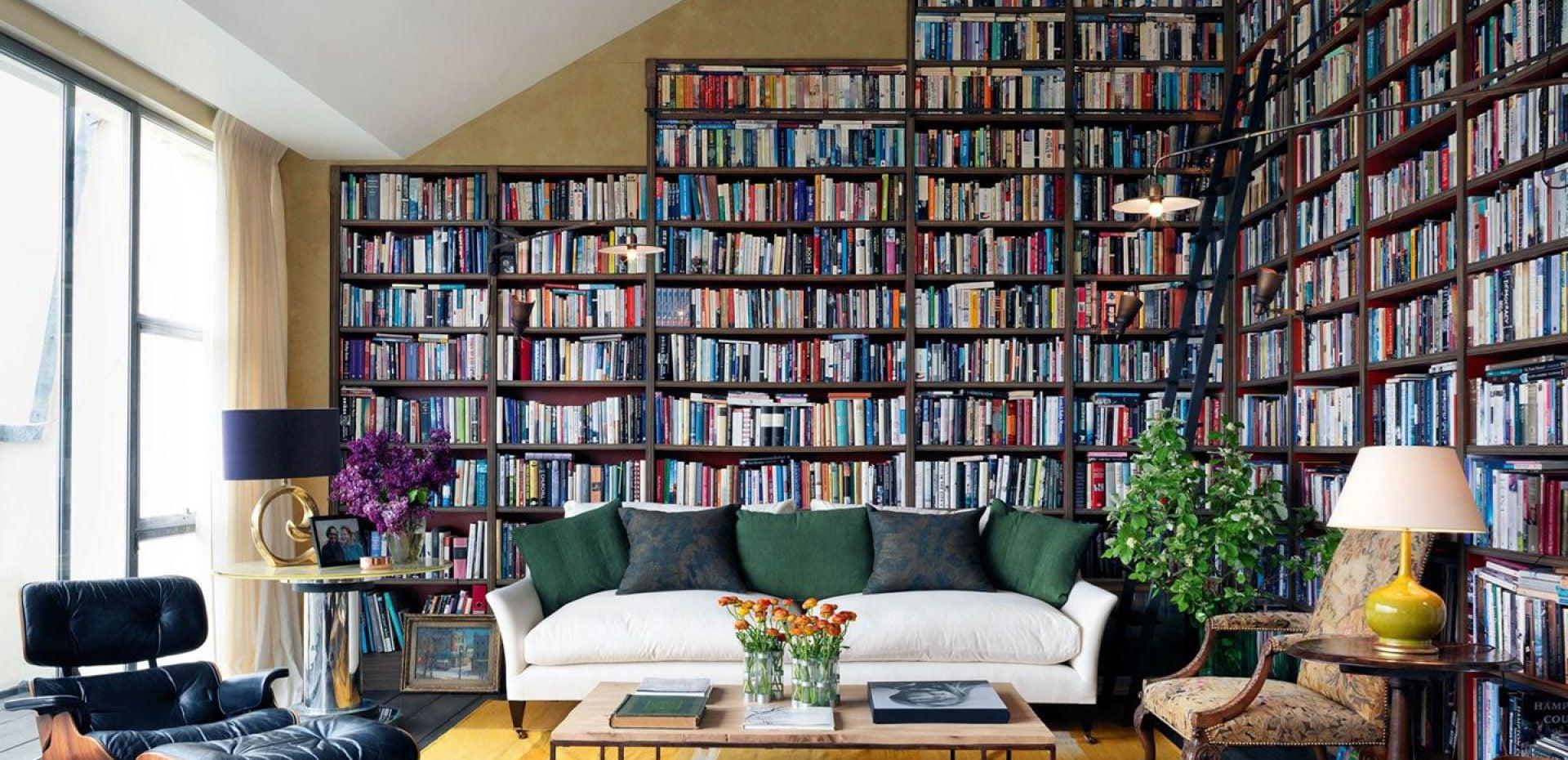 از قفسههای کتاب بیزارم