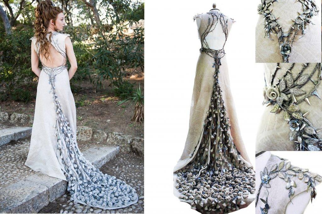 جزییات لباس عروس