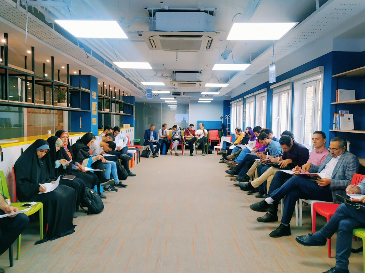 یادگیری تعاملی در آموزشهای کسبوکاری