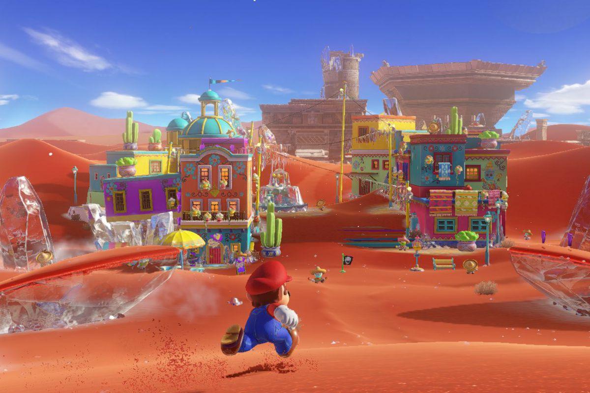 ویژگی بازی سوپر ماریو این است که هر پادشاهی معماری خاصی دارد که بر روی روند بازی و گیم پلی آن تاثیر می گذارد.