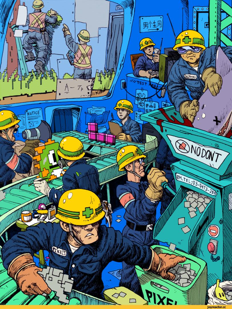 دریچه ی ورود به کارخانه ی بازیسازی