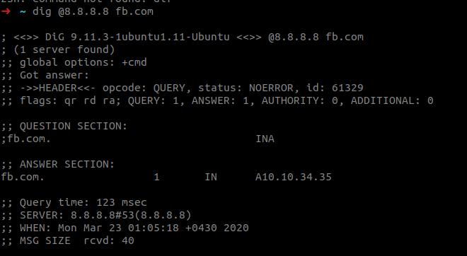 امن کردن درخواست DNS با تانل SSH