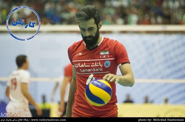 میر سعید معروف؛ کاپیتان تیم ملی والیبال ایران