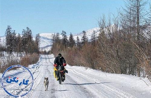 کار نکن، قسمت بیست و چهارم: جهانگردی دوچرخهسوار، محمد حسین محمودزاده