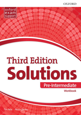 Oxford Soloution third edition Pre-intermediate Workbook