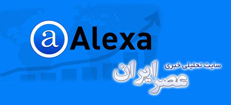 آمار غیرقابل اعتماد الکسا و سوءاستفادهی 'عصر ایران'