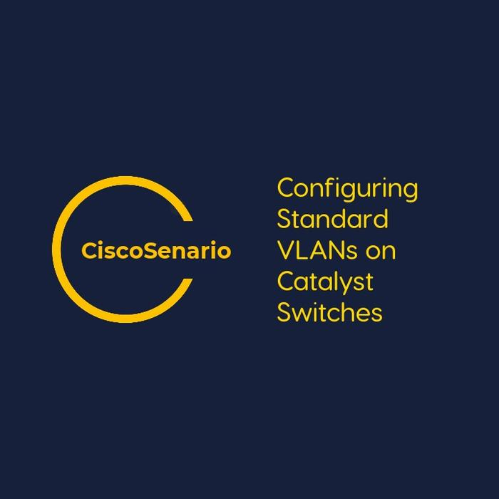 CCNA-Lab 14. Configuring Standard VLANs on Catalyst Switches
