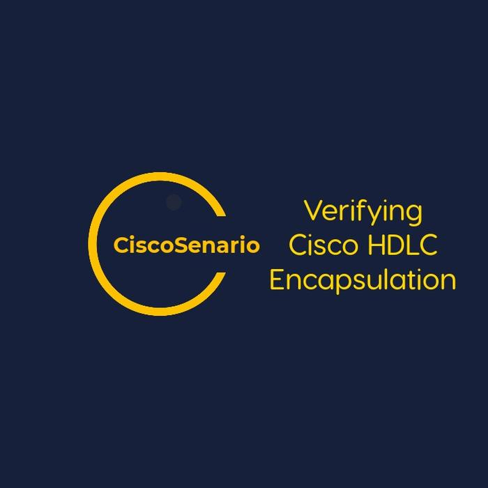 CCNA-Lab 6. Verifying Cisco HDLC Encapsulation