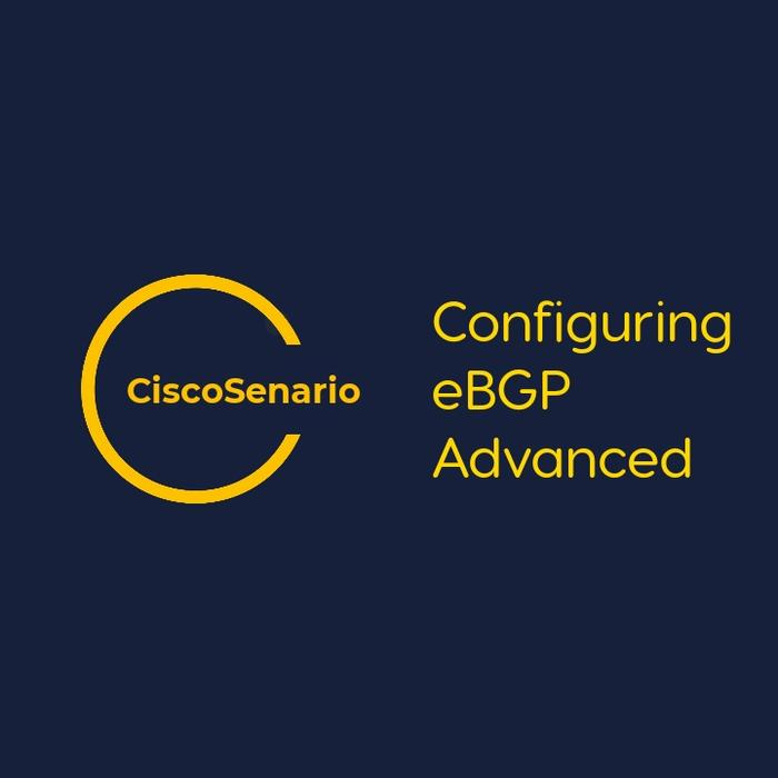 CCNA-Lab 11. Configuring eBGP Advanced