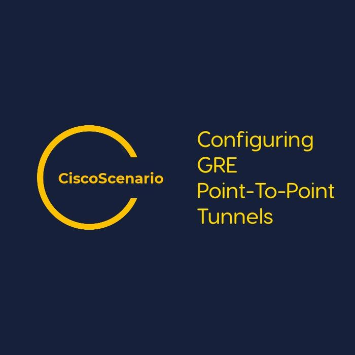 CCNA-Lab 12. Configuring GRE Point-To-Point Tunnels