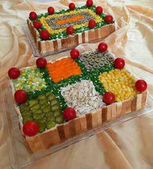 کیک مرغ مجلسی