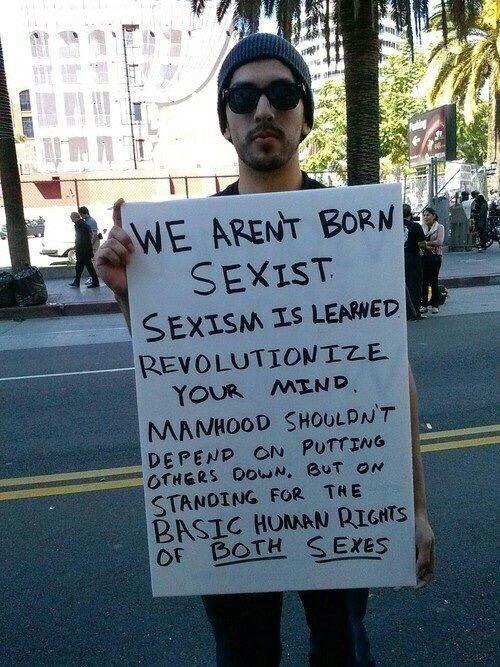 چرا مردان باید فمینیست باشند؟قسمت دوم: به خاطر انسانیت