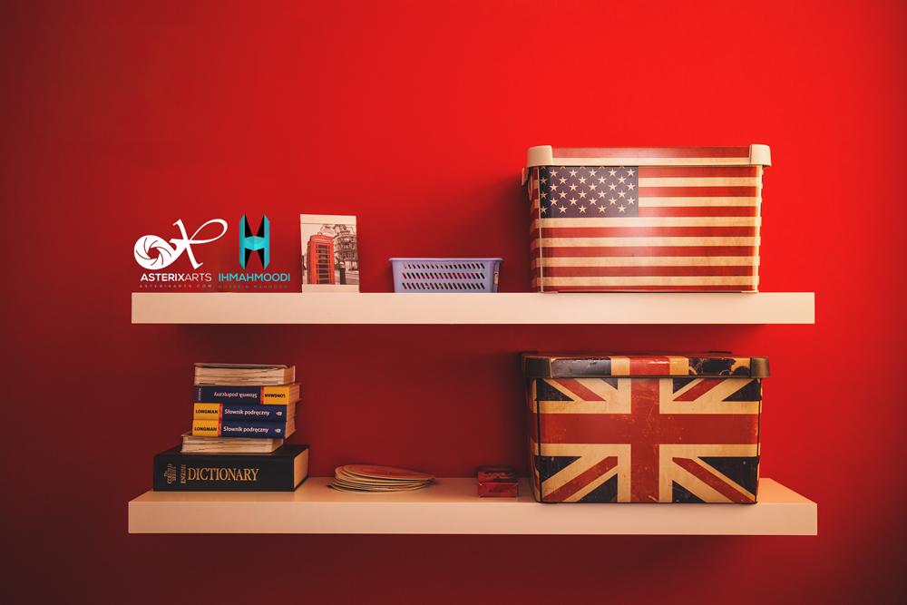 یادگیری زبان انگلیسی در چهار کلام