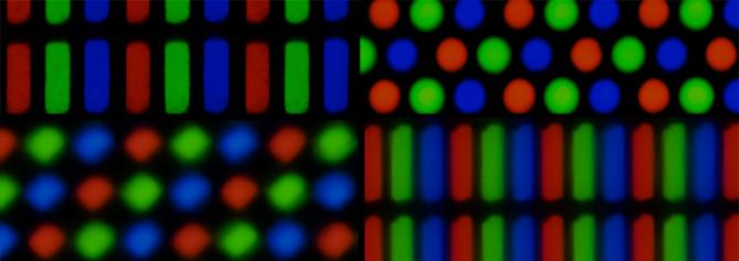 پیکسل ها و 3 رنگ اصلی قرمز سبز آبی (RGB)