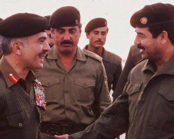 حامیان صدام در جنگ ۸ ساله با ایران
