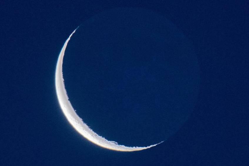 وضعیت ماه در زمان فرود چانگای-4 از دید ناظر زمینی