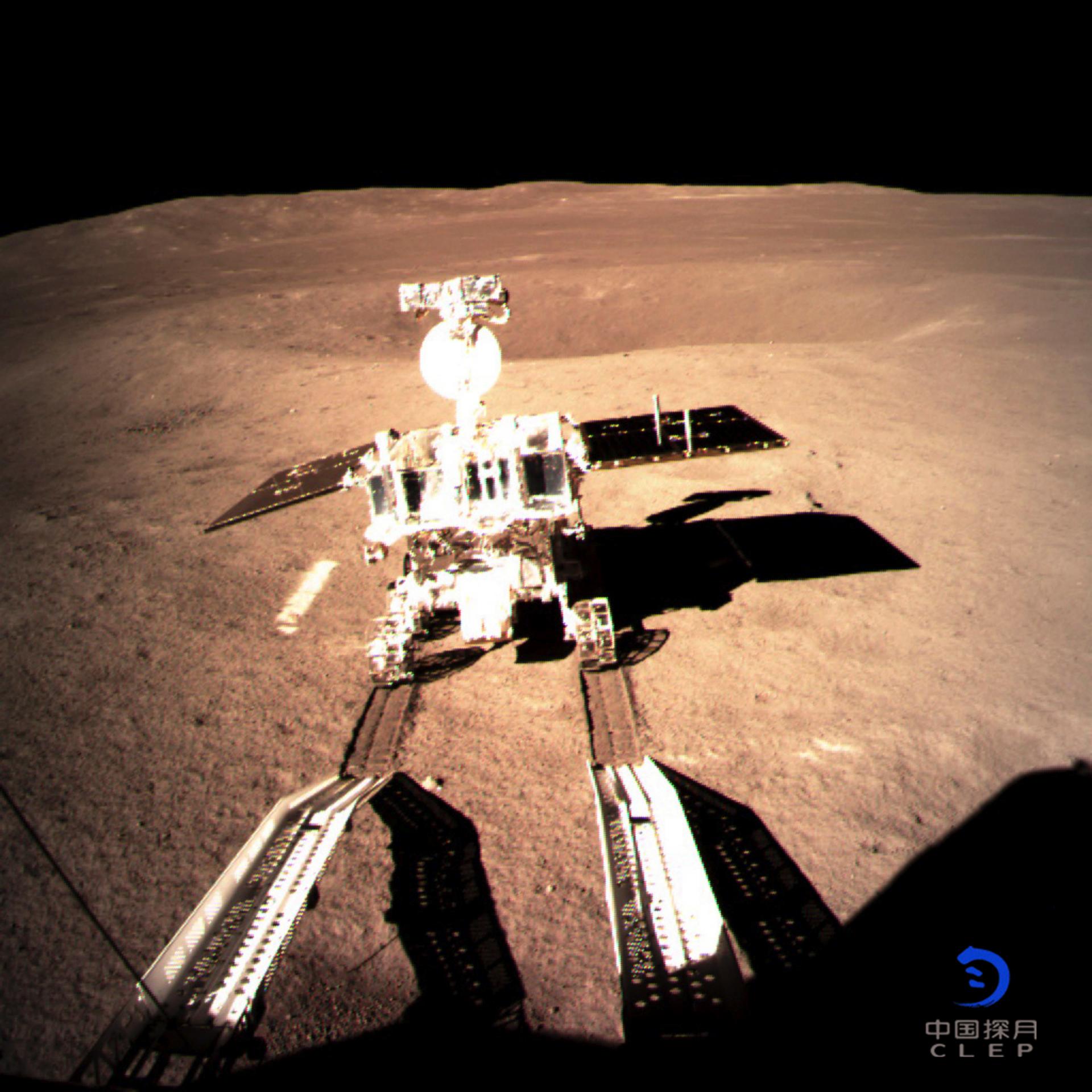 یوتو-2 در حال خروج از چانگای-4