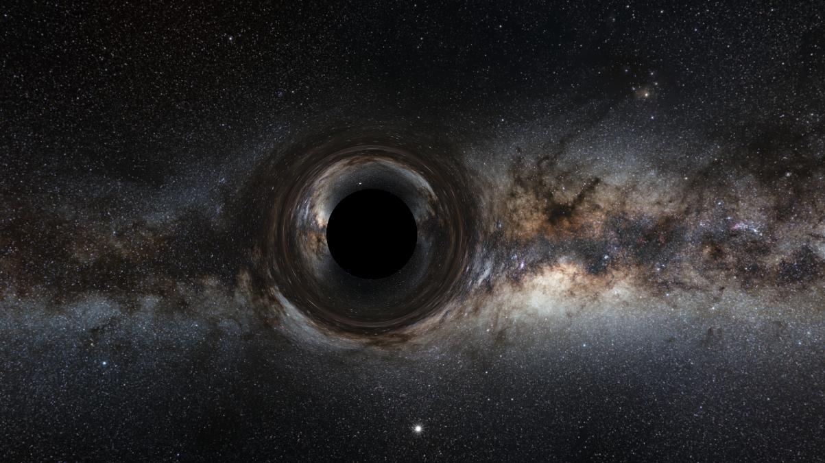 شبیهسازی یک سیاهچاله