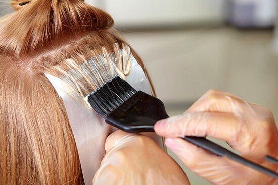 نحوه رنگ کردن موی سر با مواد گیاهی و طبیعی در منزل