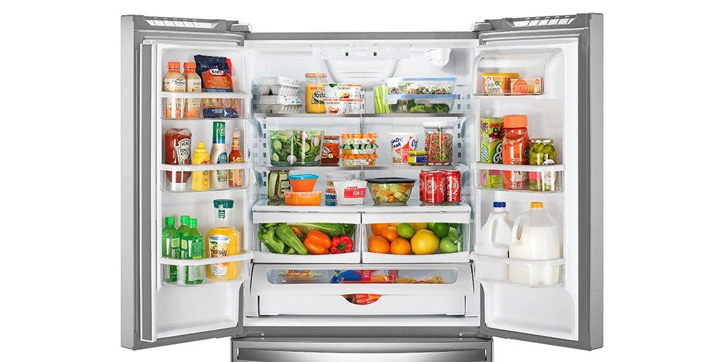 مشخصات نگهداری مواد غذایی در یخچال و فریزر