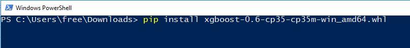 آموزش نصب کتابخانه XGBoost در ویندوز